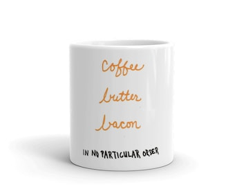 Mug with diet humor