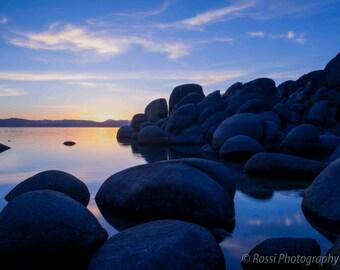 Tahoe Blues-Fine Art Landscape Print