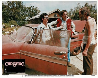 Christine – 1983 – Original US lobby card  #  6