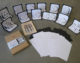 Ullagami Pop-Up Kit — Pre-cut, ready-to-fold, with complete illustrated instructions