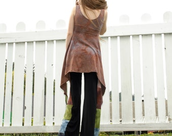 Hempress Top - Hand Dyed Hemp Top - Boho Tank Top - Organic Sustainable Clothing - Festival Clothes