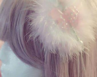 Carousel  hair clip