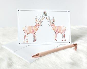 lgbt cards christmas cards lgbt christmas cards deer christmas card deer gift - Deer Christmas Cards