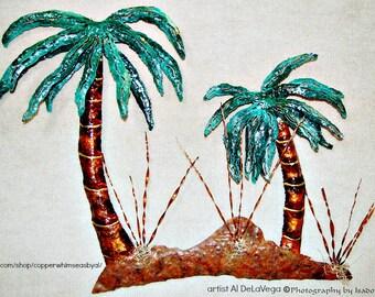 Tropical Palm Tree Breezes
