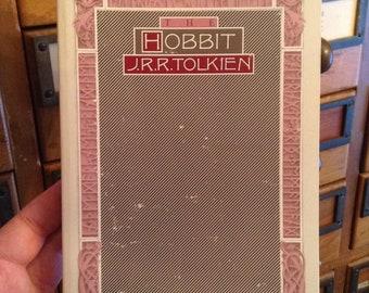 Le Hobbit de J.R.R. Tolkien, livre Vintage, livre classique, illustré, cadeau de rat de bibliothèque, livre de collection, cadeau lecteur