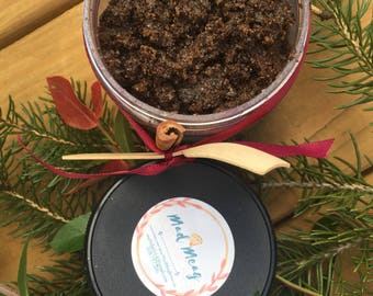 Mocha Peppermint Sugar Scrub- Coffee Lover - Exfoliating Scrub - Natural Beauty Product - Body Scrub - Coffee Sugar Scrub -Natural Scrub