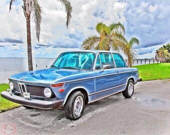 Classic Car 1976 BMW 2002 - Fine Art Photograph Print Picture