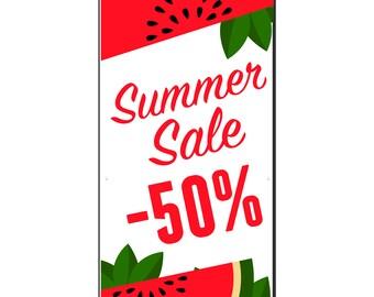 Summer Sale Vinyl Banner