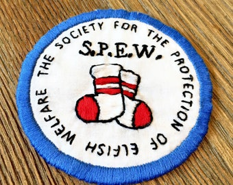 S.P.E.W. Iron On Patch