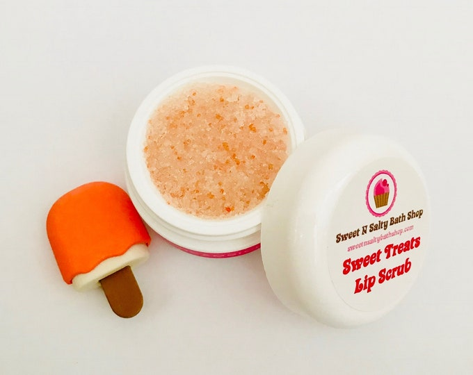Dreamsicle  Sweet Treats Flavored Lip Scrub-More Flavors to Choose From!