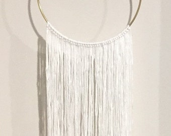 Aro Wall Hanging in White