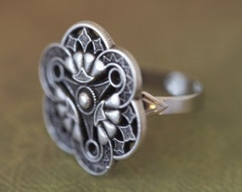 Art Deco Vintage Inspired Ring