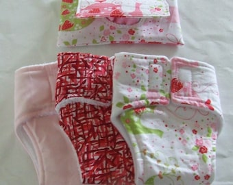 Doll Nappy Sets Large or Small