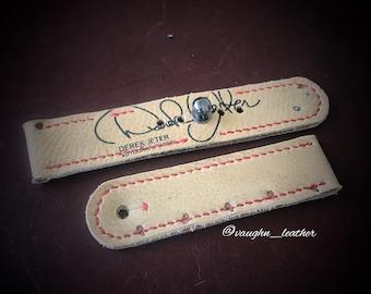 """Handmade """"Derek Jeter""""  42mm apple watch strap"""