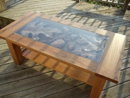 Tavolo rustico mano intagliata tavolino tavolo cabina for Piani di cabina rustici