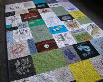 Custom T-shirt Quilt - XL Dorm Twin - No Money Down