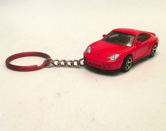 Porsche 911 turbo keychain, Sports car keychain,schluesselanhaenger, Mens or Womens keychain, Mens or Womens gift