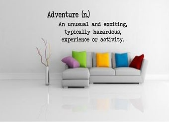 Adventure Wall Decal - Definition