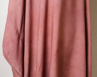 Bronze dream Handmade dyed art womens dress Indian Meditation india poncho Top Shirt yoga Tunic plus size 2x xxl xxxl 3x 4x dressy