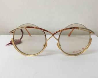 New Vintage Casanova Round Eyeglasses C.13 FC 13