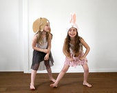 PATTERN BUNDLE - 2 Bunny easter costumes sewing tutorial creative play animals ideas kids mask children christmas holiday Halloween gift