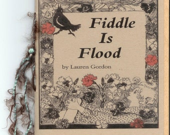 Fiddle is Flood by Lauren Gordon - 2015 Blood Pudding Press Contest Winning POETRY CHAPBOOK - Little House on the Prairie themed