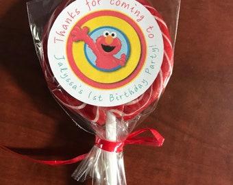 Sesame Street Birthday, Sesame Street Lollipops, Sesame Street, Sesame Street Party Favors, Party Favors
