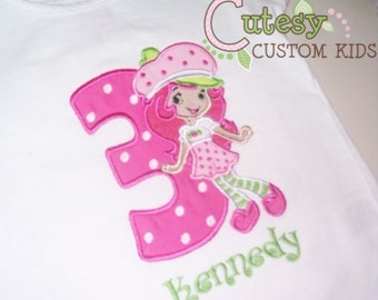 Strawberry Shortcake Birthday Shirt