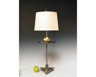Handmade lamp. Original design by Frank Lüedtke. #228