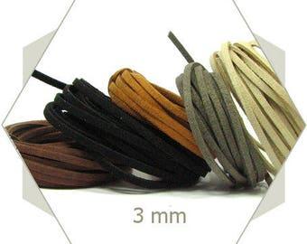 5 m cord 3mm natural tones CSMIX4 assortment