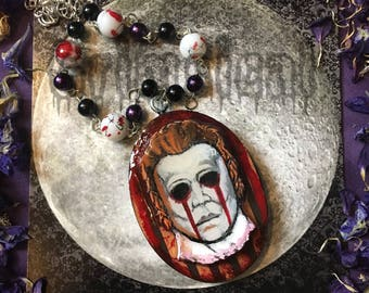 Halloween Slasher Necklace