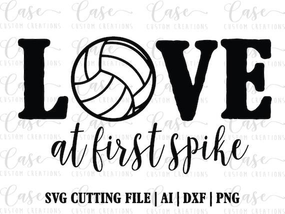 2070+ Love Volleyball Svg DXF Include