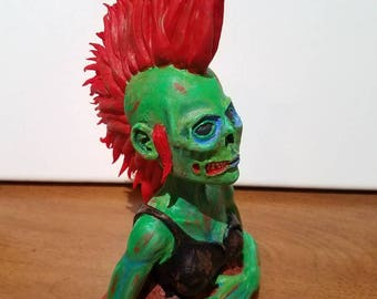 Zombie Punk Sculpture