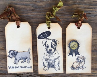 Puppy Gift Tags