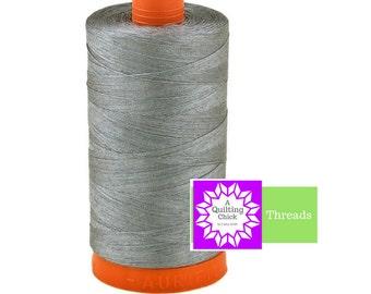 50wt Aurifil Grey 100% Cotton Mako SPOOL Thread Aurifil #MK50-2605