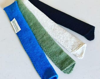 Hemp Short Sleeves by StrawSleeves for short reusable straws!