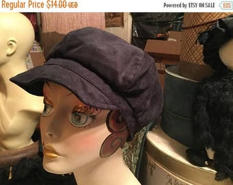 25%Off Vintage 1980s Dorfman Pacific/Scala black newsboy hat