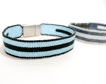Unisex Peyote Bracelet Handmade gift Idea