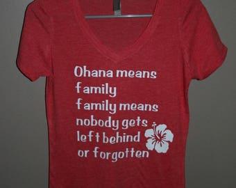 Ohana Lilo and Stitch Shirt