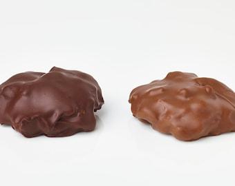 Moo Chews (Caramel Cashew Turtles)
