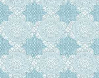 Doily Blue from Gembrook range by Ella Blue x 25cm