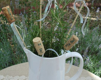 Wedding Decoration Wine Cork Markers