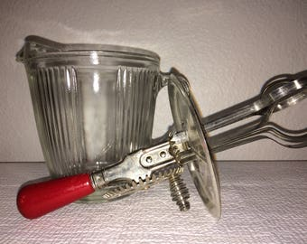 Vintage Batter Bowl and Mixer