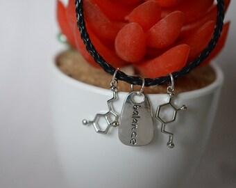 Biolojewelry - Serotonin Dopamine Balance Charm Bracelet
