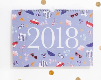 Calendrier 2018 (PROMOTION -50%)