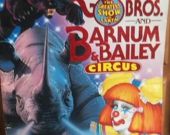 Ringling Bros. Barnum and Bailey Circus Souvenir Program, 120th Anniversary, Vintage 1990