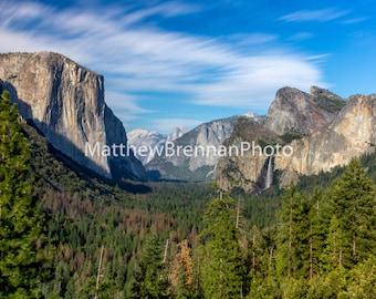 Canvas Photo Art, Yosemite Valley Landscape