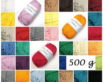 500 g Cottani (46,00EUR/kg) of plus wool cotton Babywolle