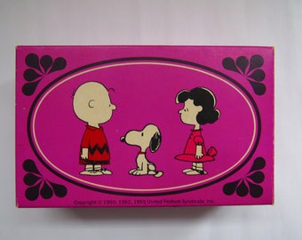 Vintage 1970's AVON Peanuts Gang Snoopy Charlie Brown Lucy & Snoopy Figural Soaps
