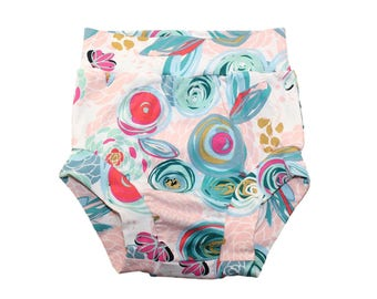 Baby Bloomers, Spring Baby Clothes, Spring Baby Dress, Floral Baby Bloomers, Toddler Shorts, Girls Bloomers, Baby Girl Shorts